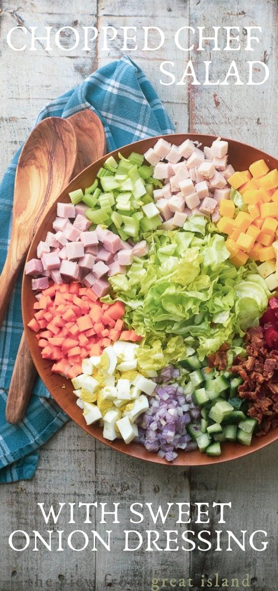 chopped chef salad pin