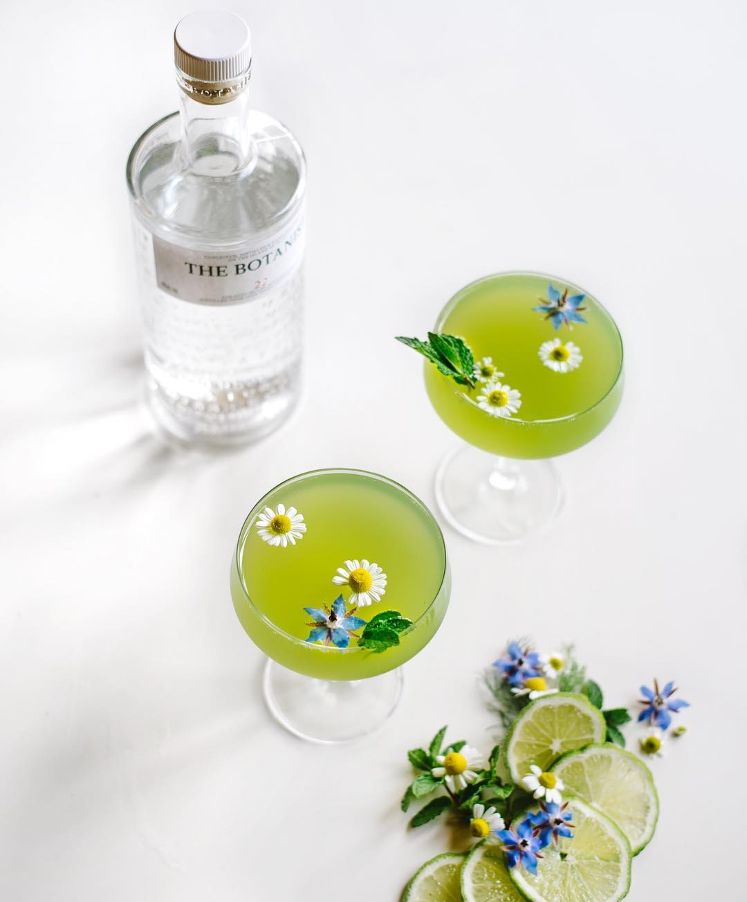 Green Botanical Gin and Tonic