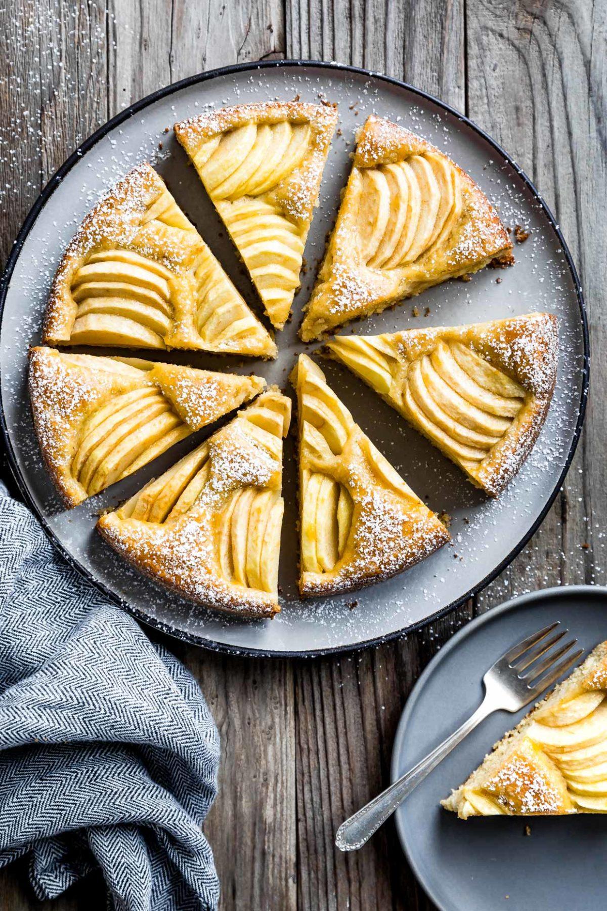Gluten Free German Apple Cake