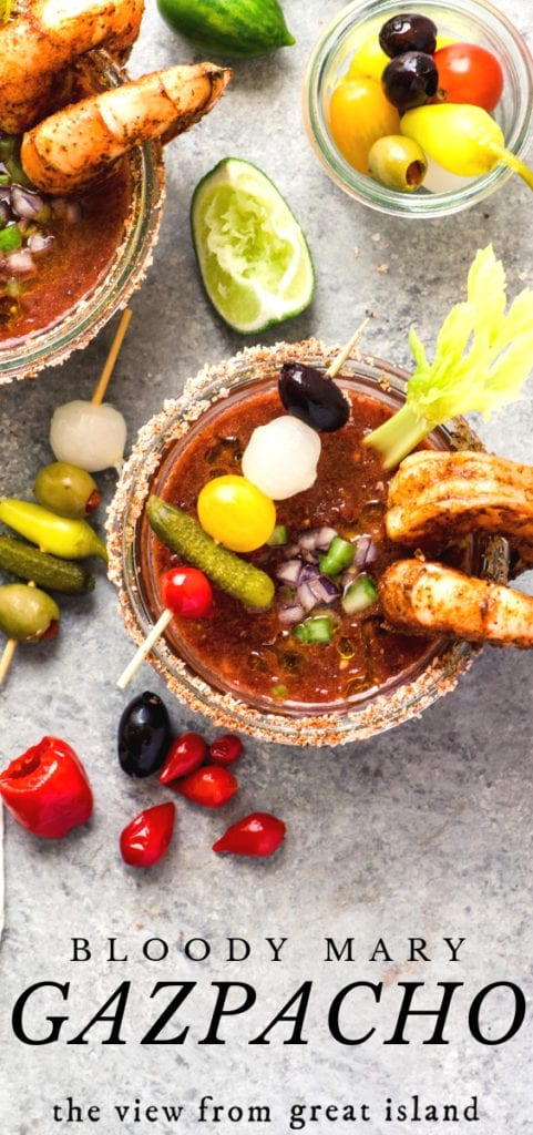 Bloody Mary gazpacho pin