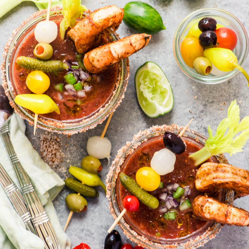 Bloddy Mary Gazpacho