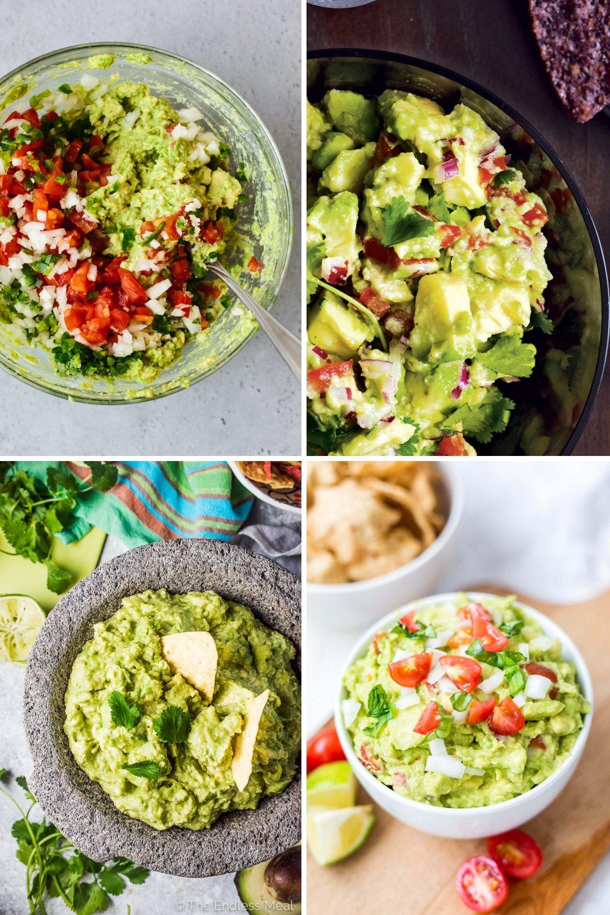 The Ultimate Guide to Guacamole ~ Classic guacamole recipes