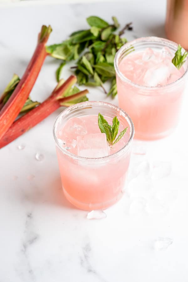 Rhubarb Pie Cocktail