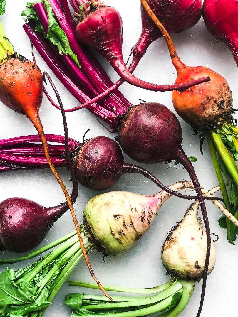 Rainbow beets