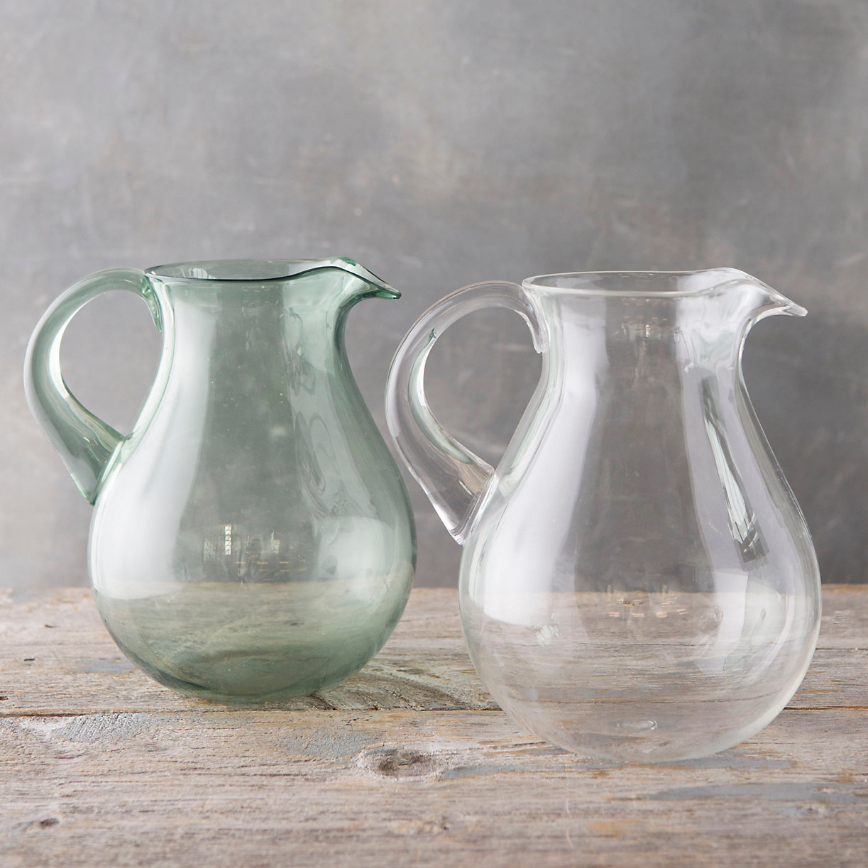 plastic pitchers for zero waste entertaining