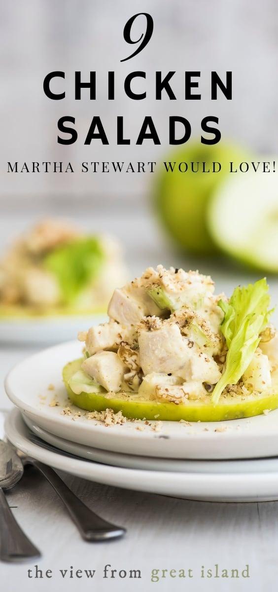 Chicken Salad Recipe Martha Stewart