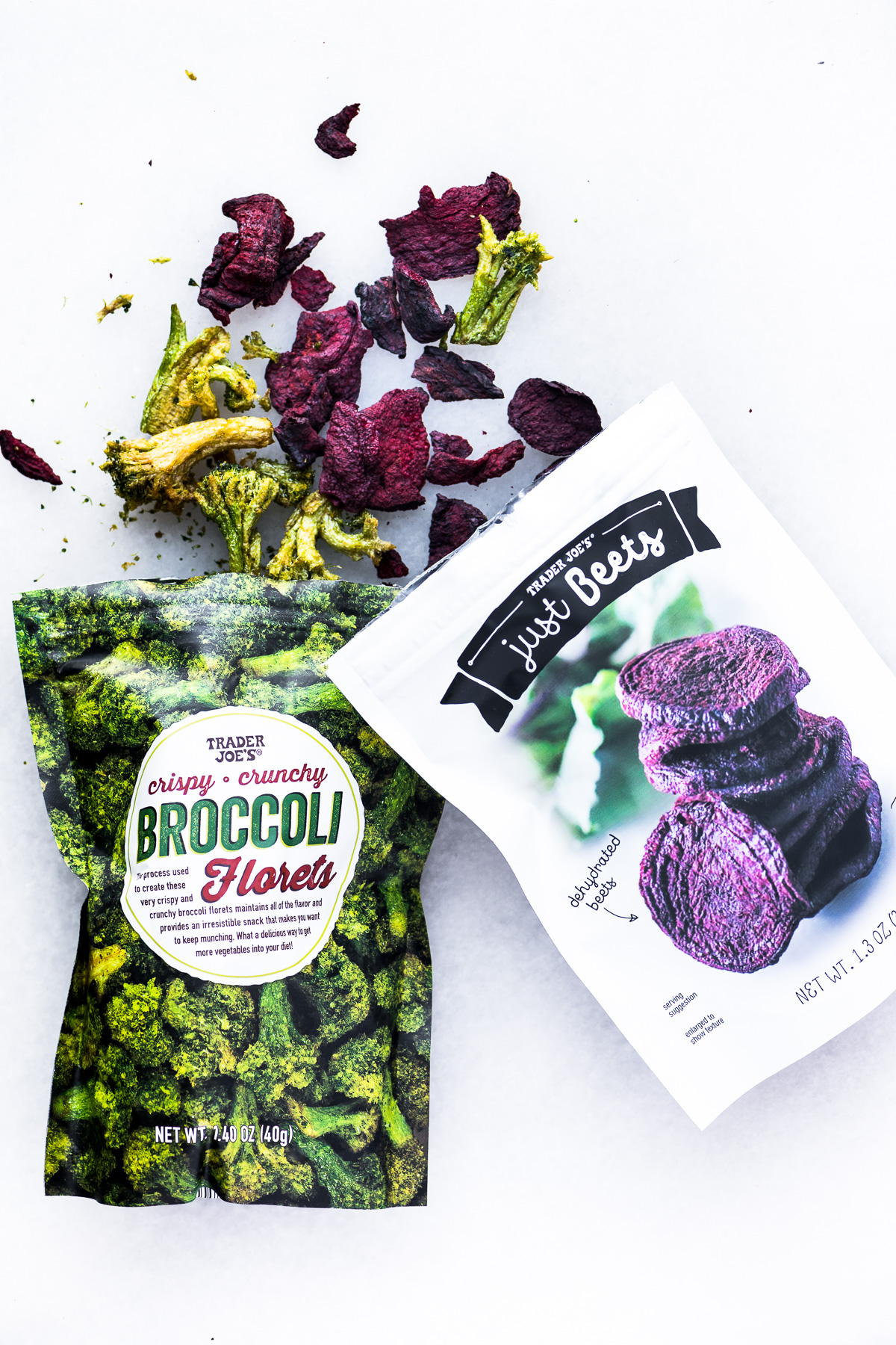 Trader Joe's Dehydrated Beets and Broccoli