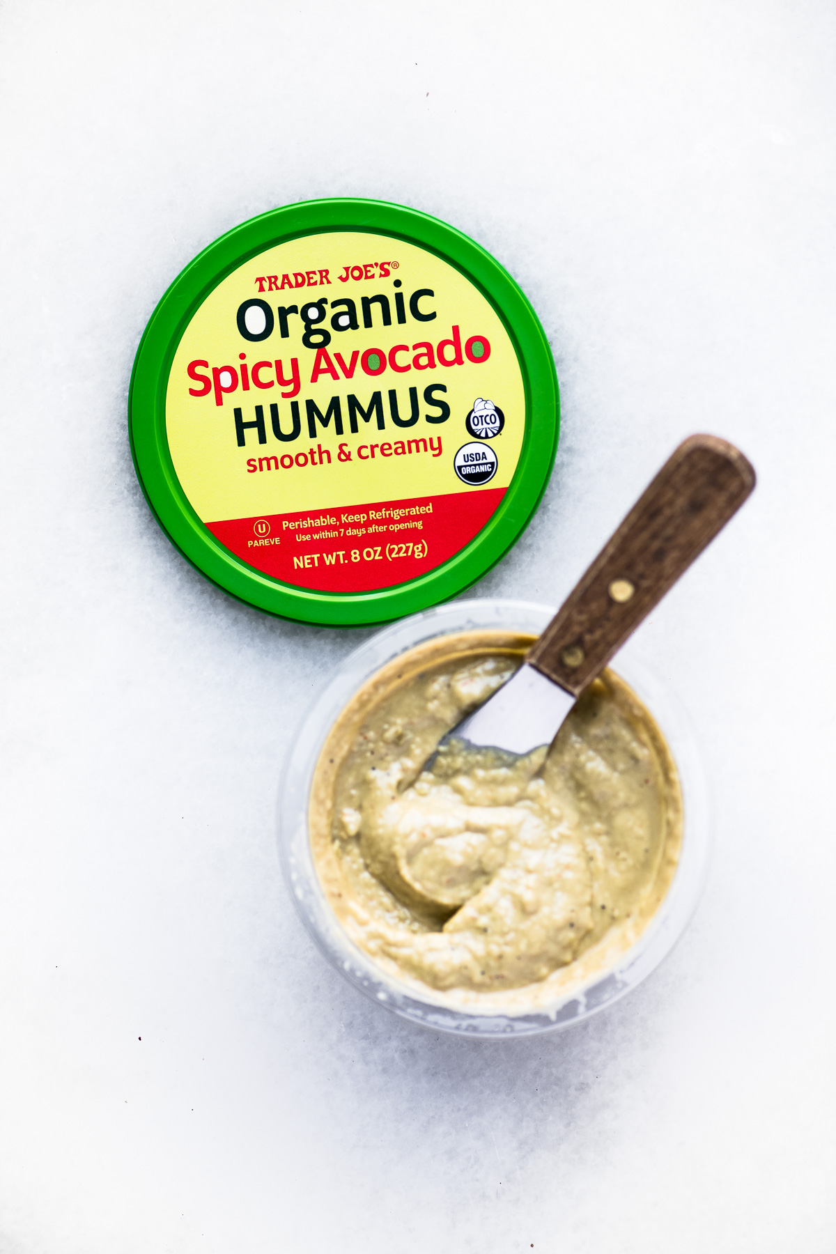 Trader Joe's Spicy Avocado Hummus