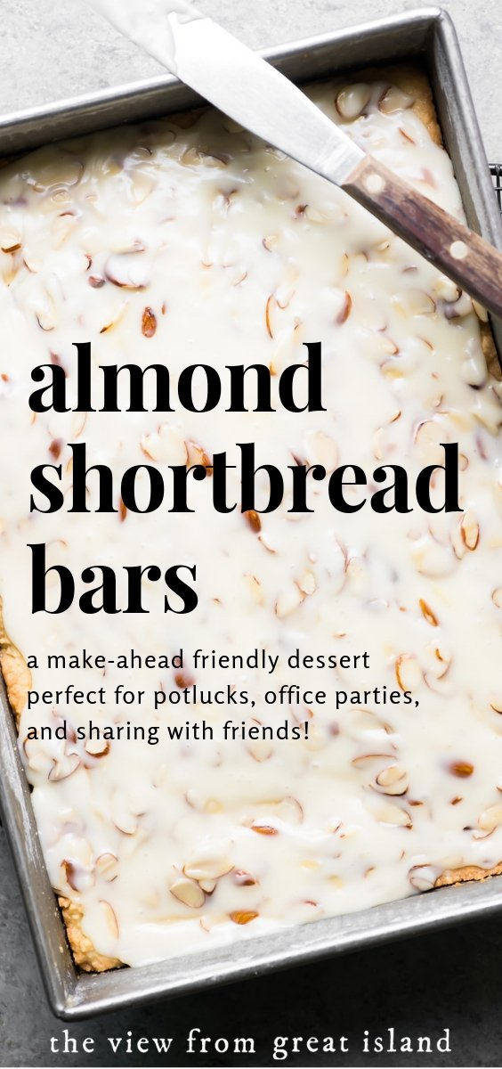 almond shortbread bars pin