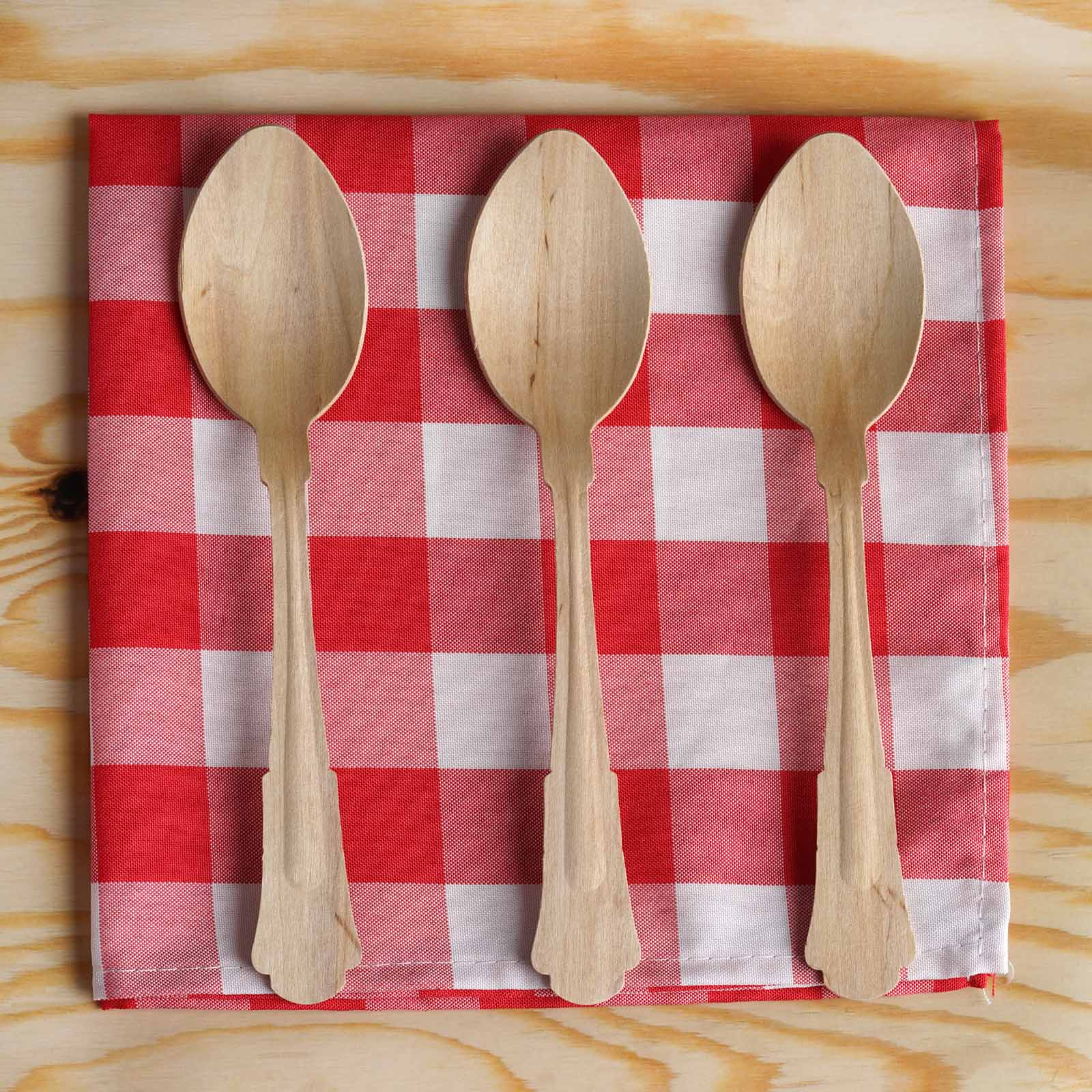 eco-friendly wooden cutlery for zero waste entertaining
