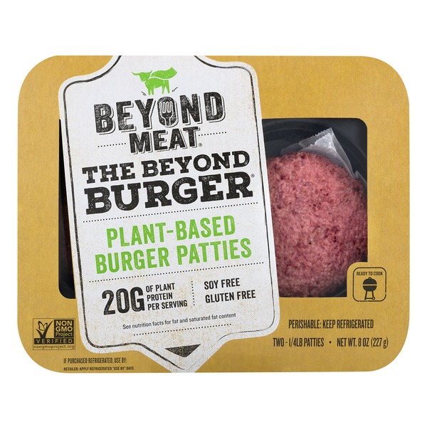 Beyond Meat package