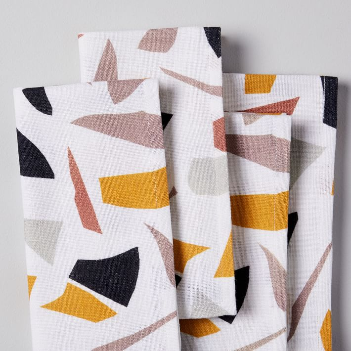 cloth napkins for zero waste entertaining