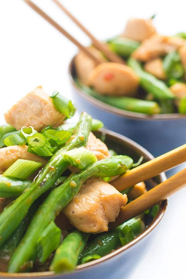 Panda Express inspired String Bean Chicken Breast