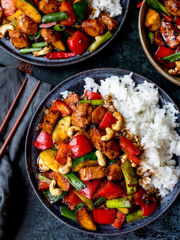 Panda Express inspired Kung Pao Chicken