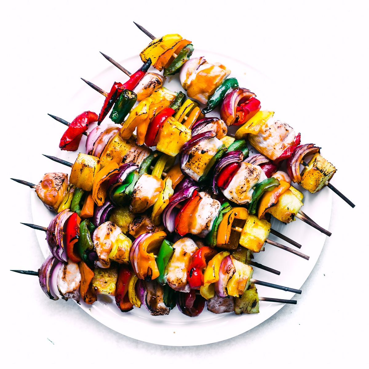Sweet Fire Chicken Skewers