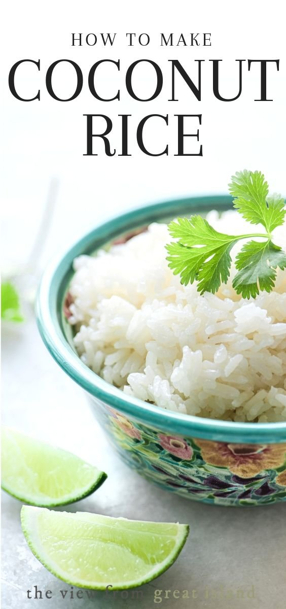 how to make coconut rice pin
