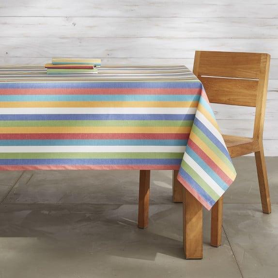 oilcloth table cloth for zero waste outdoor entertaining