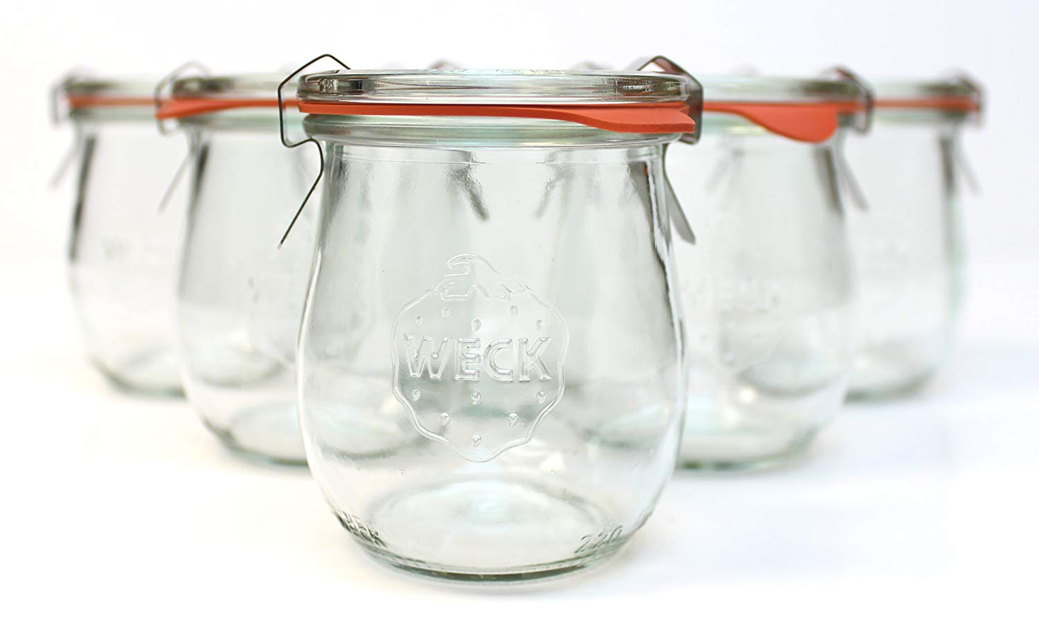 weck canning jelly jars