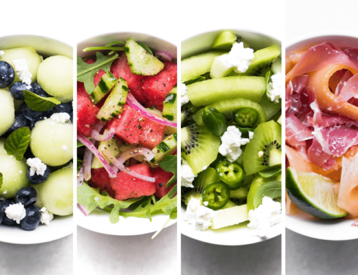 4 simple melon salads