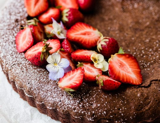 Mexican Chocolate Cake, flourless or not