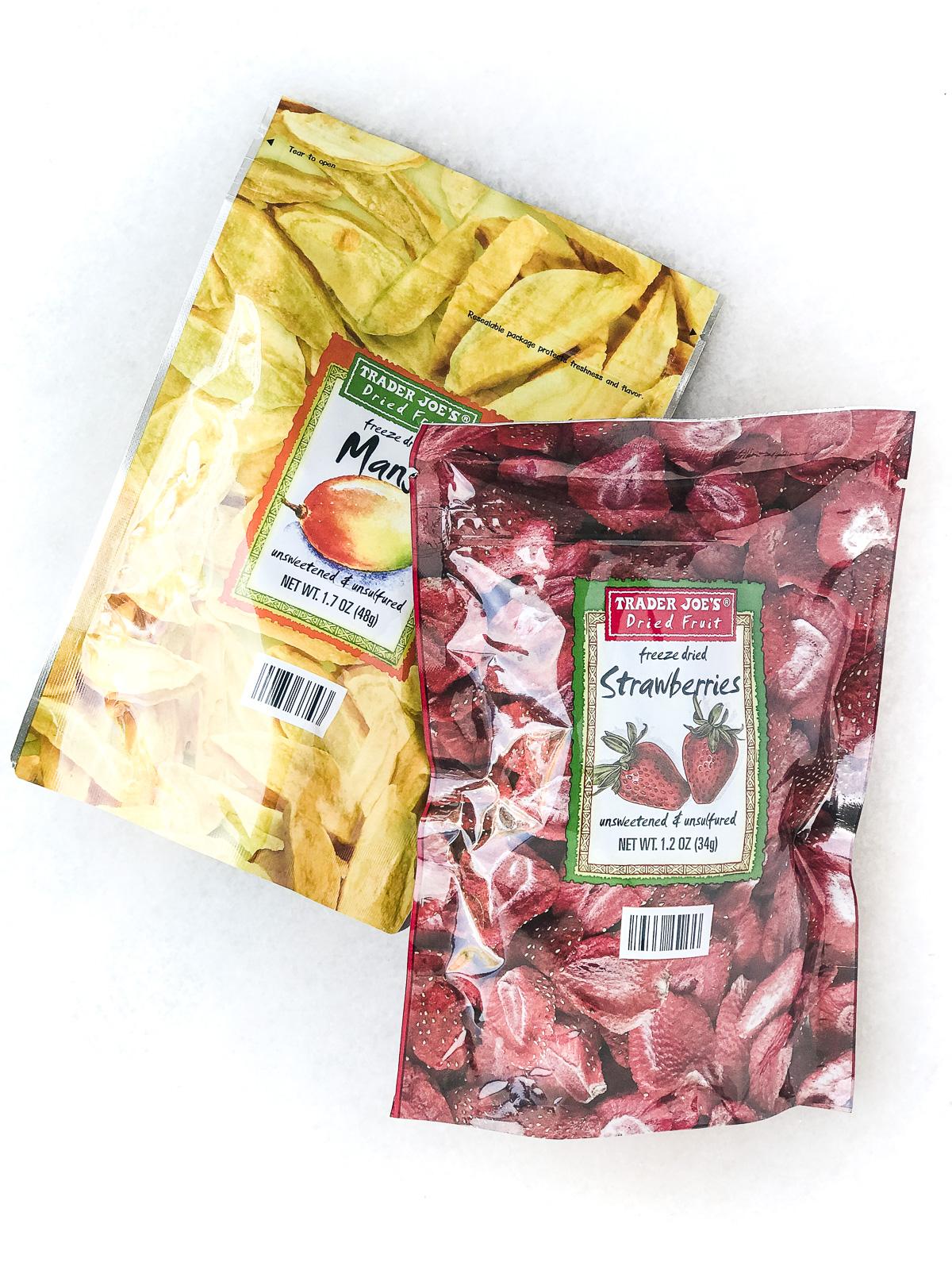 Trader Joe's freeze dried fruit