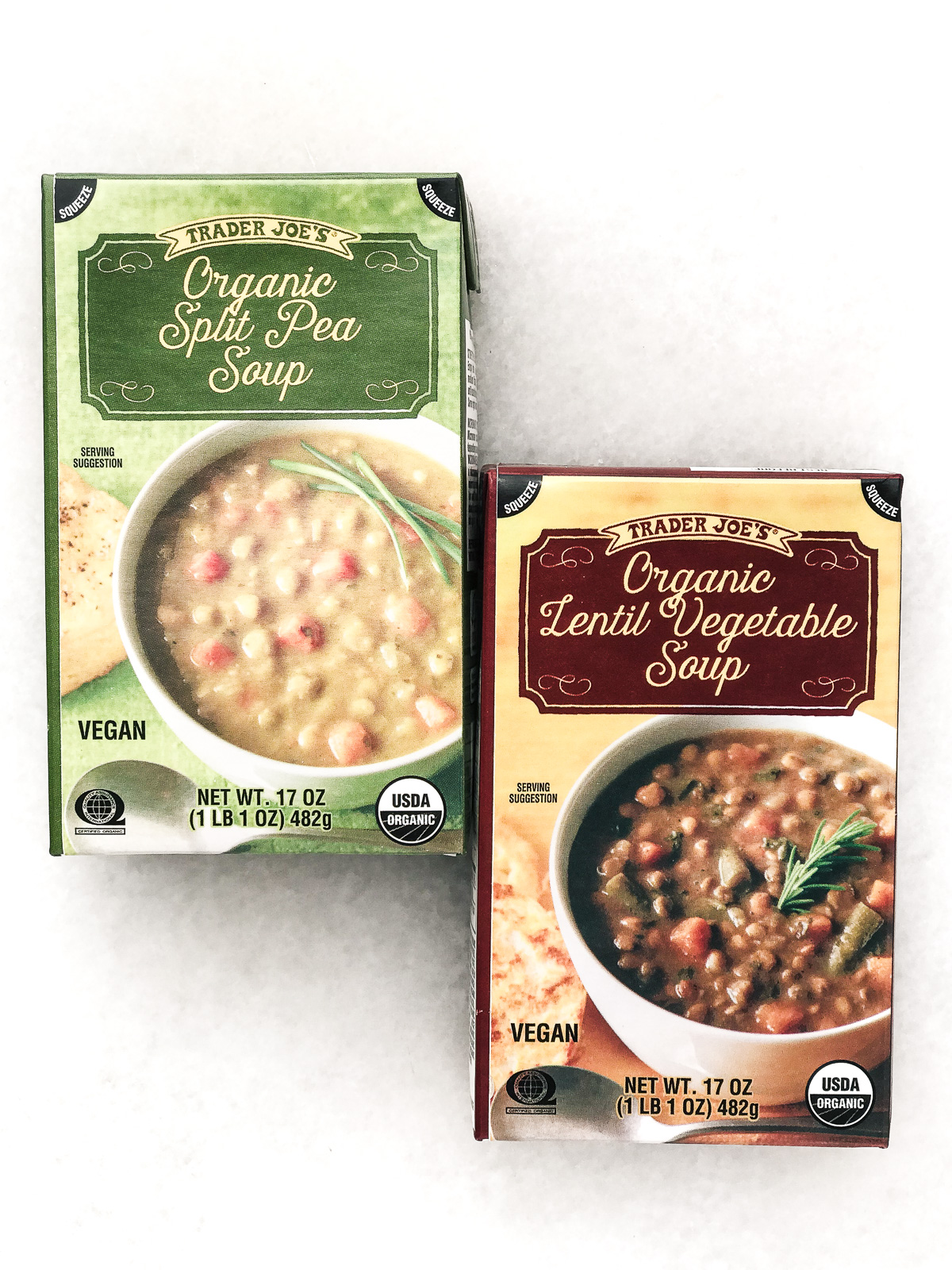 Trader Joe's packaged soups
