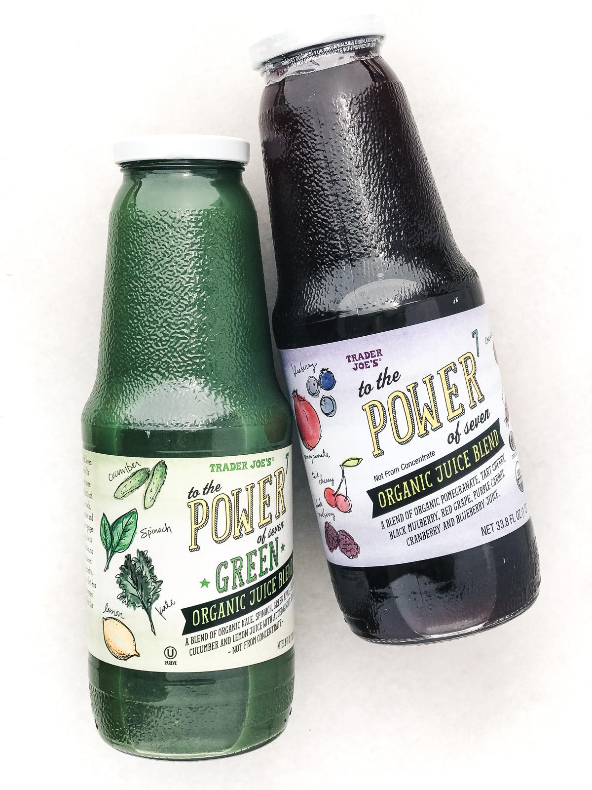 Trader Joe's fruit juices