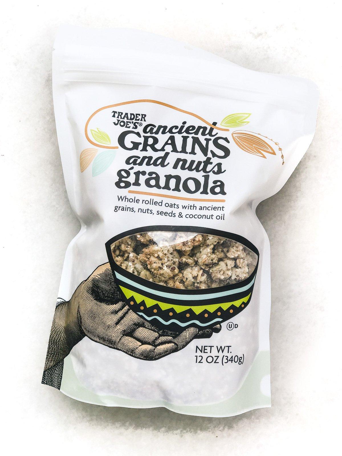 Trader Joe's granola