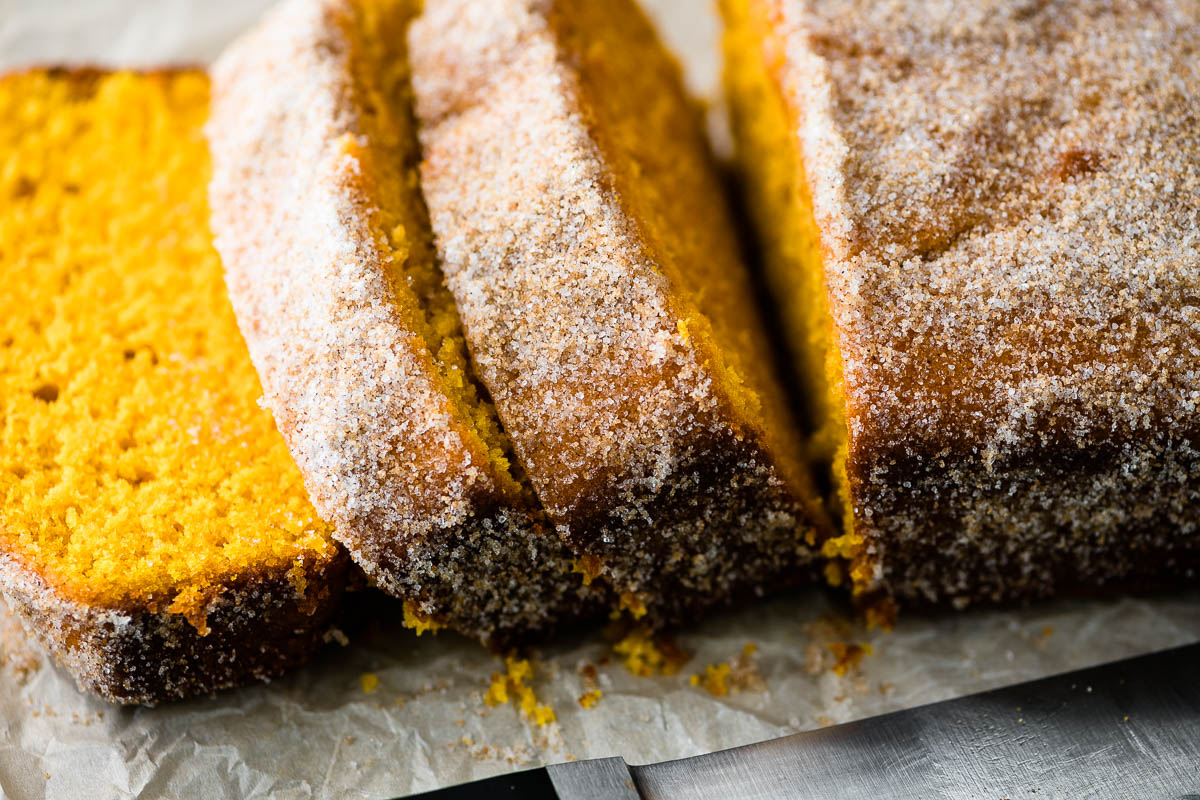 pumpkin snickerdoodle bread