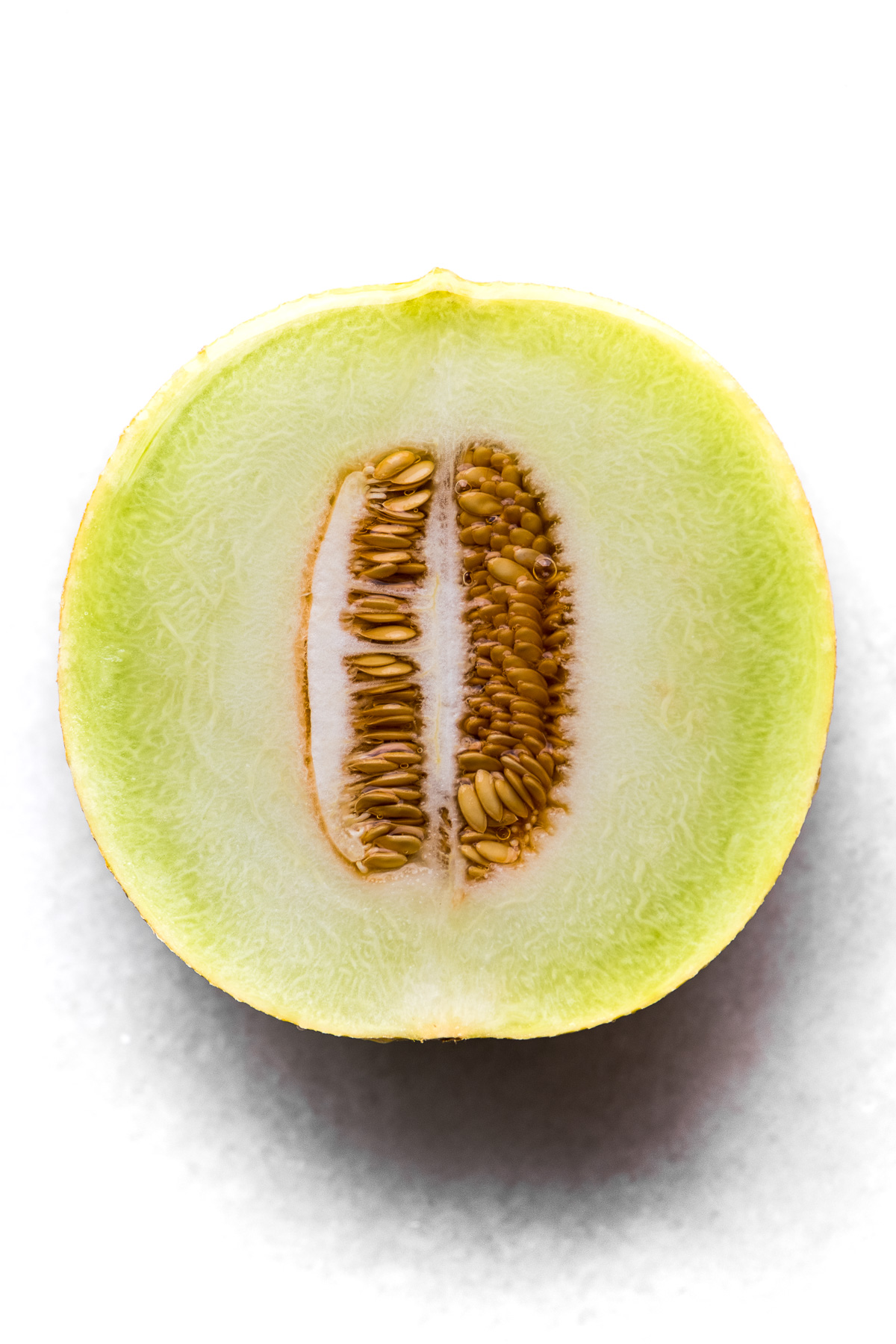 Half of a Galia Melon