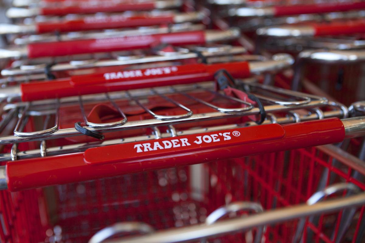 Trader Joe's grocery carts