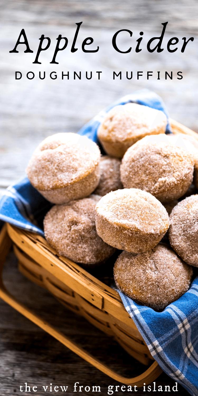 apple cider doughnut muffin pin