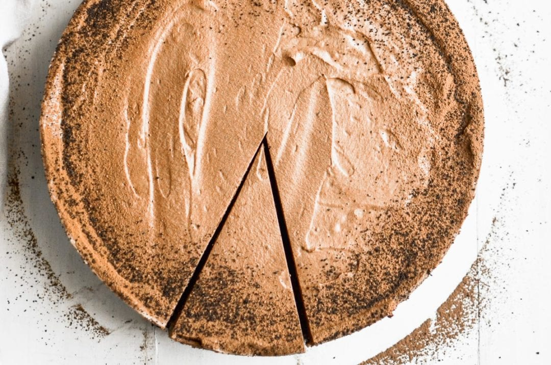almost no bake chocolate mousse pie