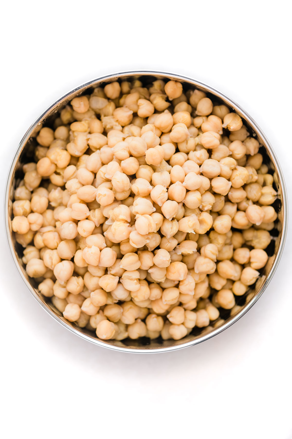 chickpeas cooked in the Instant Pot