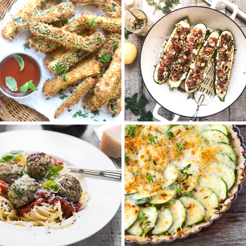 Fresh Zucchini Recipes to Make a Dent in Your Bumper Crop