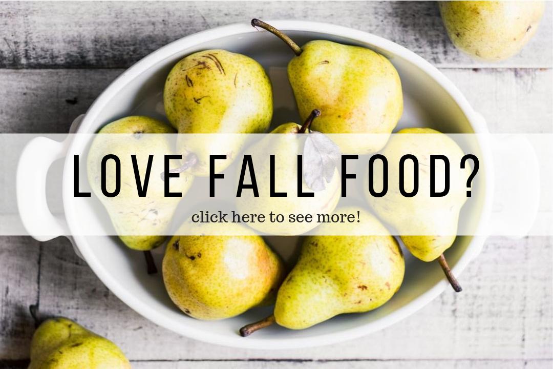 fall food image