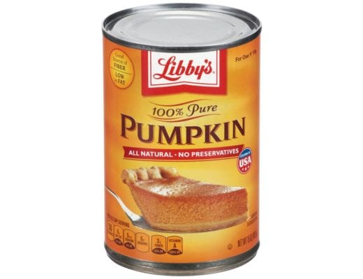 canned pumpkin