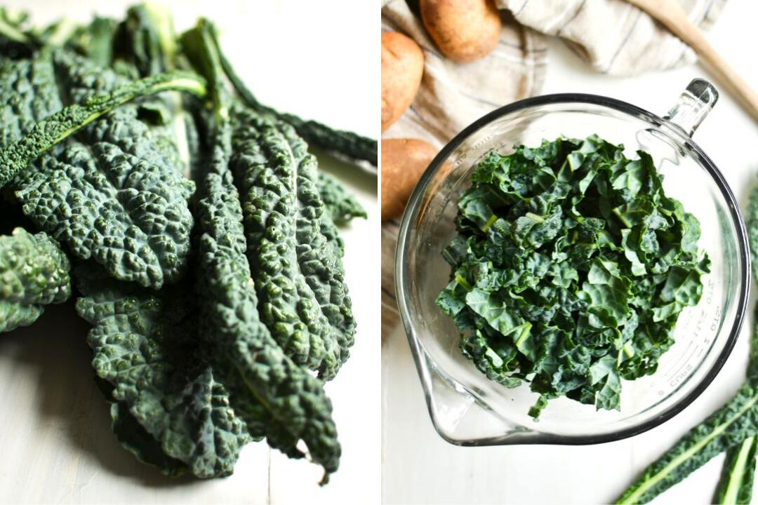 kale for making Irish Colcannon