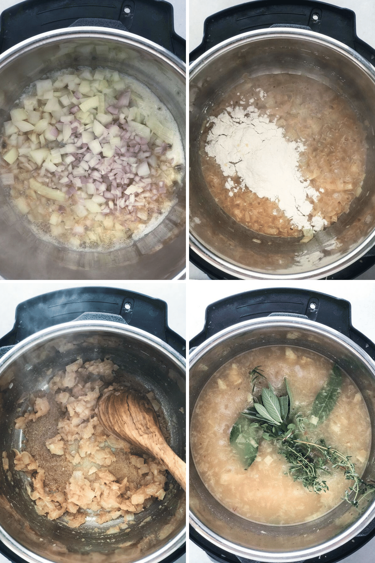 making Instant Pot gravy