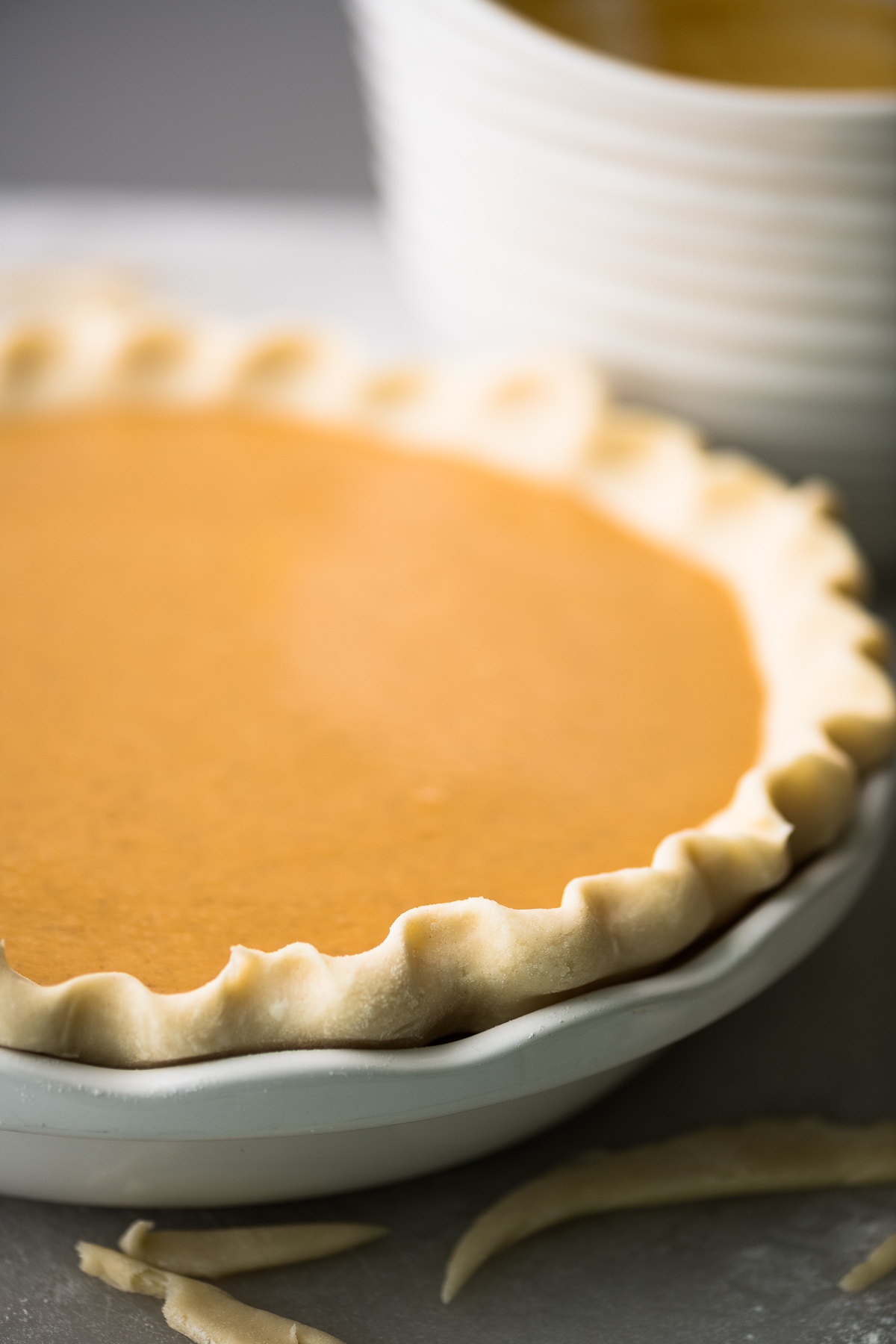 The new updated Libby's famous pumpkin pie recipe, ready to bake