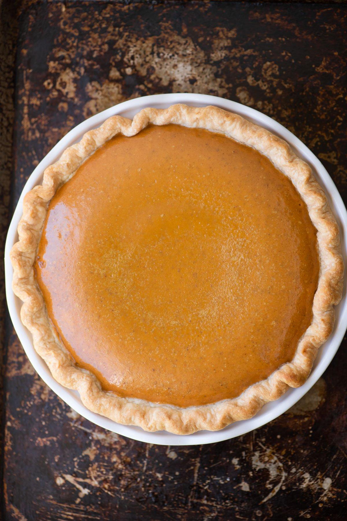 Libbys Pumpkin Pie recipe