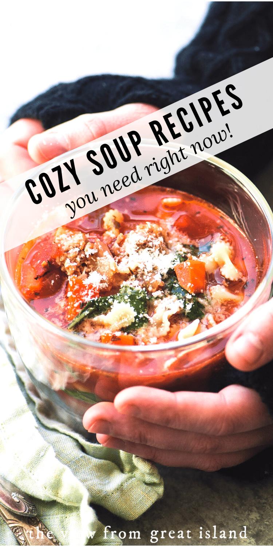 cozy soup pin
