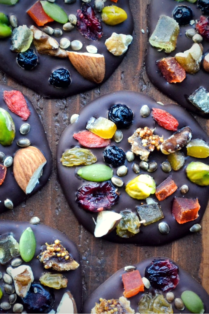 Dark Chocolate Detox Bites