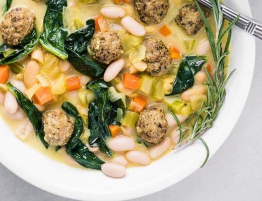 Italian bean soup