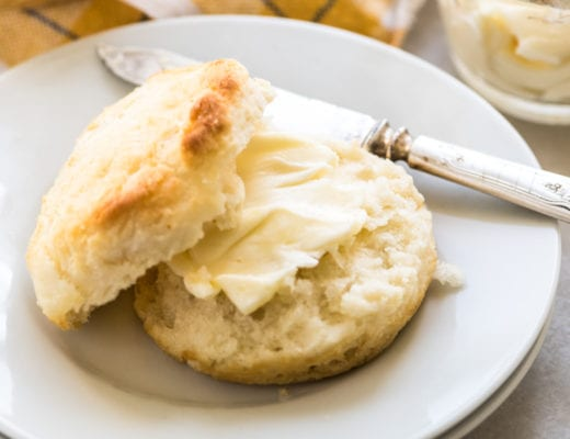 amazing 3-ingredient biscuit with butter
