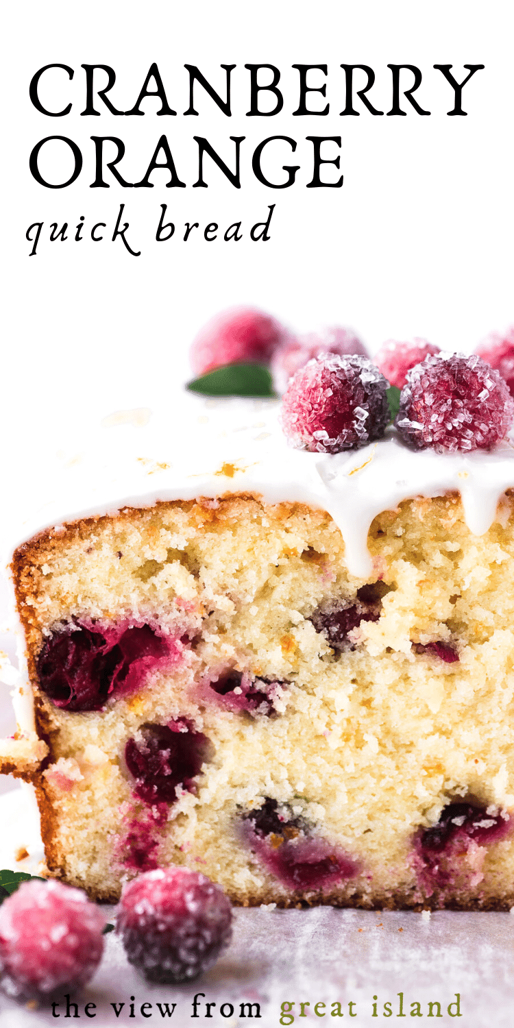 cranberry orange bread pin