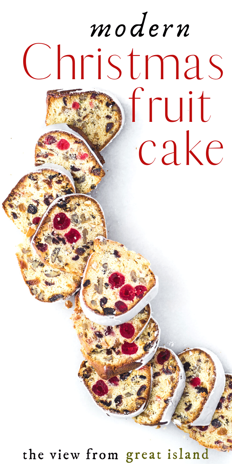 Christmas Fruitcake pin