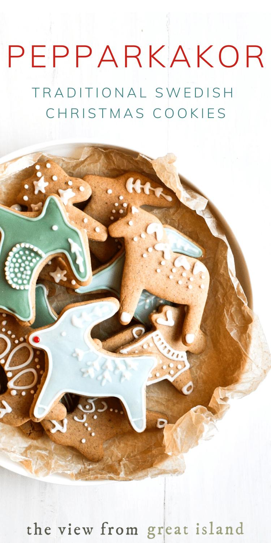 Pepparkakor Cookies pin.