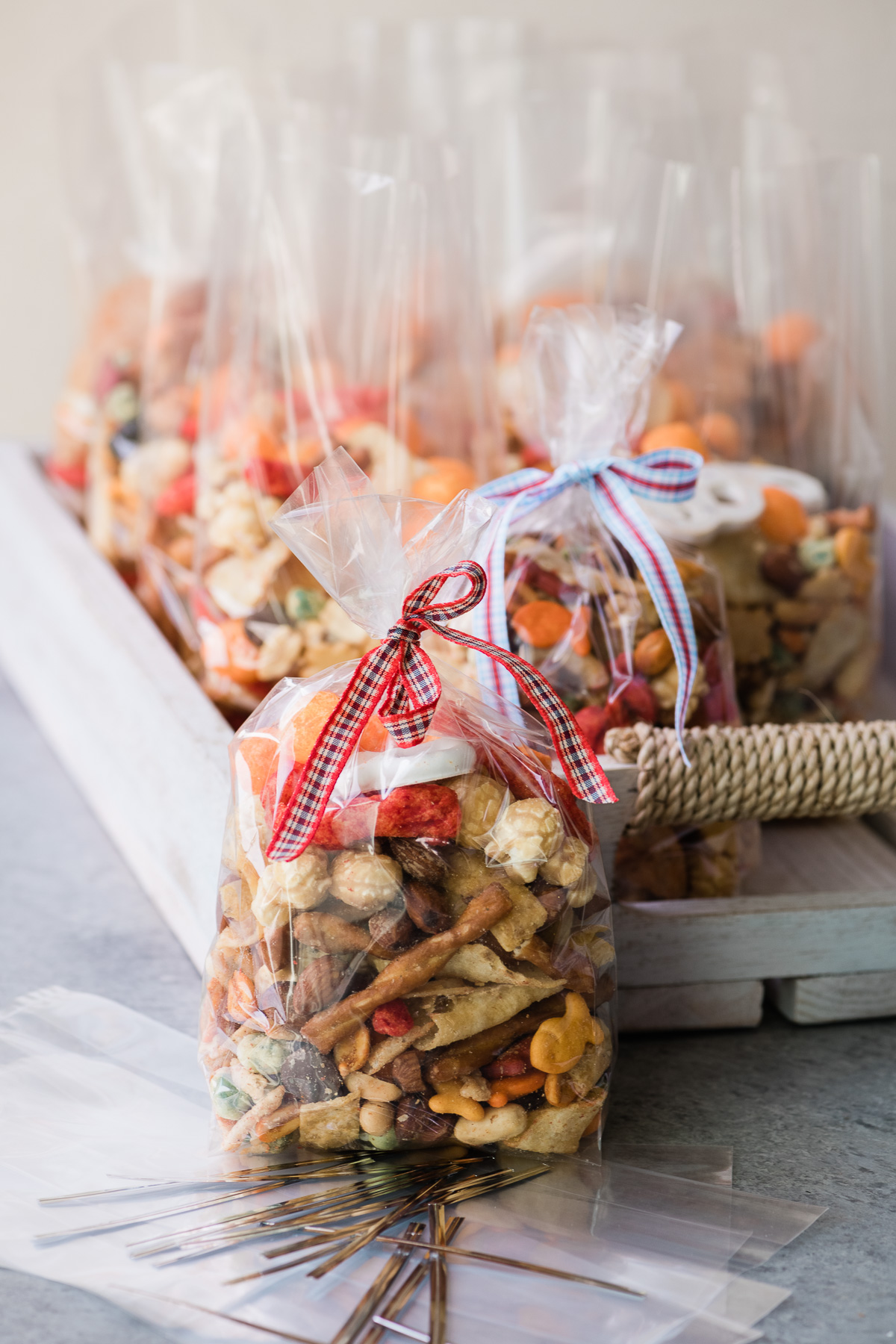 Gone Loco Party Mix in gift bags