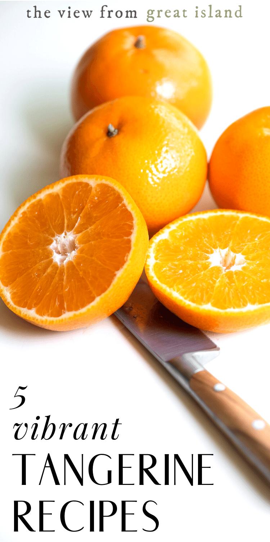 tangerine recipes pin